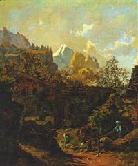 bergbauernhof by johann josef rauch