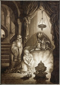 la reine mausole by johann jakob hoch