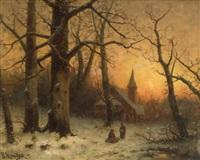 winter... by b. kreutzer