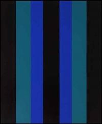 parallèles bleues by guido molinari
