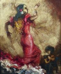 danseuse de flamenco by alvar