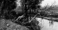 le ruisseau à artemare by adolphe francois appia