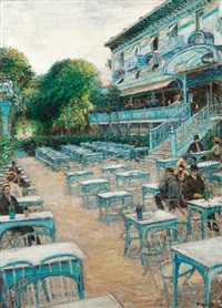 the pavillon bleu at st.-cloud by walter bondy