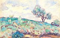 paysage by jean misceslas peské