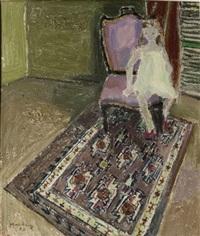 petite fille à la robe blanche by edouard-georges mac-avoy