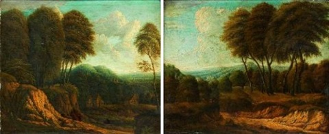 paysages pair by cornelis huysmans
