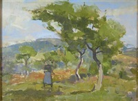 in the orchard by john guthrie spence smith