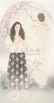辛夷 by jiang zhifeng