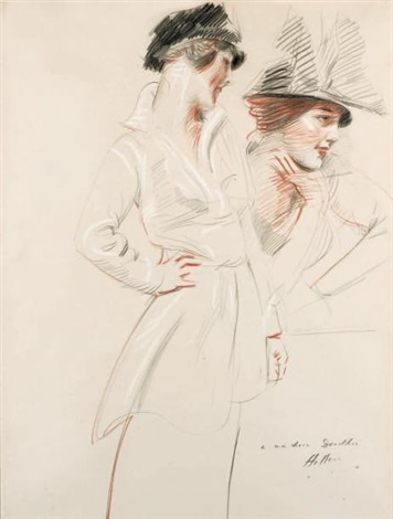 miss dorothy kelly by paul césar helleu