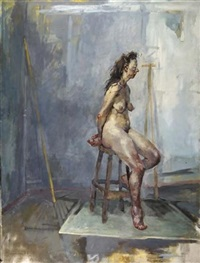 female nude by paul mcphail