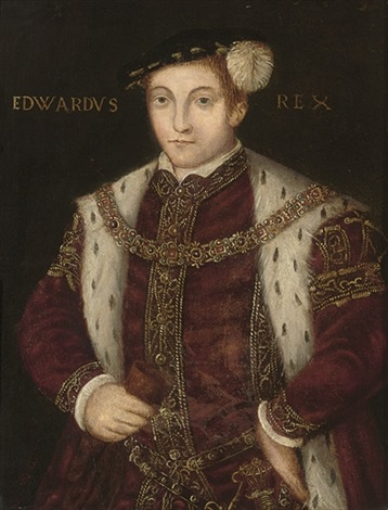 portrait of king edward vi by guillim scrots