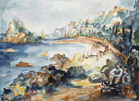 taormina by georges braque