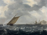 marine by arnoldus van anthonissen