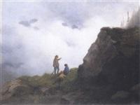 passeggiata in montagna by carlo piacenza