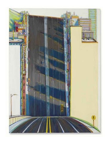 city downgrade by wayne thiebaud