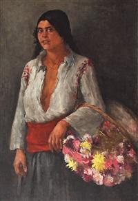 flower girl by dimitrie mihailescu