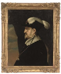 portrait of king christian iv of denmark by karel van mander iii