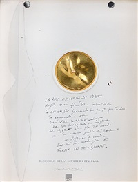 forma in tensione (il secolo della scultura italiana) by giò pomodoro