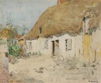 the thatched cottage by david davies