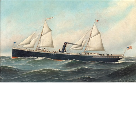 the rio grande of the mallory steam ship lines by antonio jacobsen