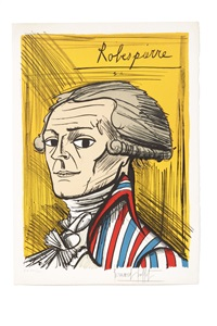 robespierre (from la révolution française) by bernard buffet