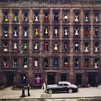 new york city (girls in the windows) by ormond gigli