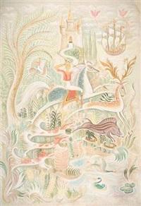 la pêche miraculeuse (+ la chasse royale; 2 works) by h.c.o.