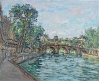 le pont neuf et le louvre by jules lellouche