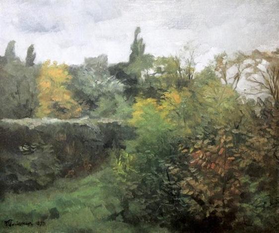 biches en sous bois by wilhelm trübner
