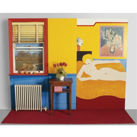 great american nude no 48 by tom wesselmann
