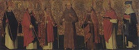 seven saints: an antependium by flemish school-liège (16)