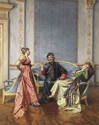 entertaining the cardinal by françois brunery