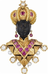 blackamoor brooch by nardi