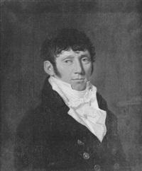 portrait d'homme by cornelis van cuylenburg