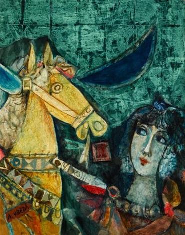 el caballo de luna by augustin ubeda
