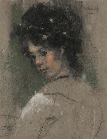 girls head study by james watterston herald