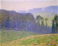 morning mist by charles frechon