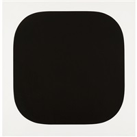 black variation iv (from second curve series) by ellsworth kelly