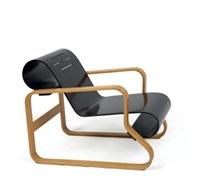 fauteuil paimio modèle n°41 by alvar aalto