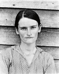 allie mae burroughs, alabama tenant farmer wife by walker evans