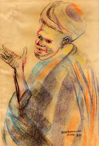 beggar by ben enwonwu