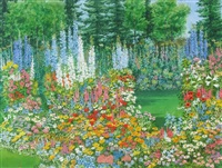 flower garden by j. stanford perrott