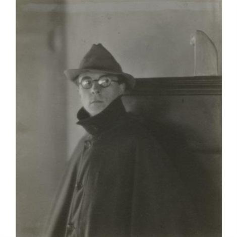 portrait of edward weston by margrethe mather