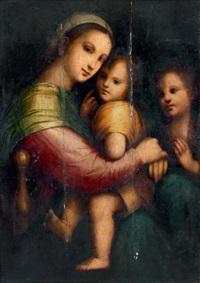 vierge à l'enfant avec saint jean-baptiste by andrea piccinelli
