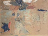figures by the sea by louis valtat