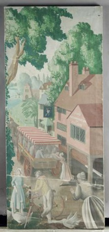 an english holiday village inn by mary adshead