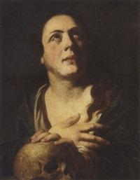 the penitent magdalene by johann liss