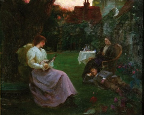 the garden party by tudor st george tucker