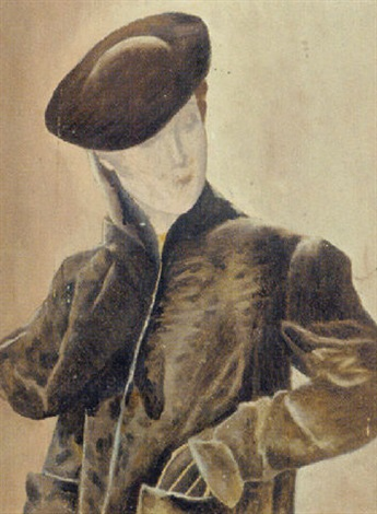 elegant lady by frederick etchells