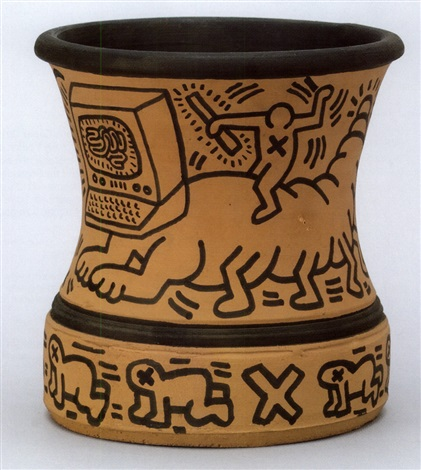Vase By Keith Haring On Artnet